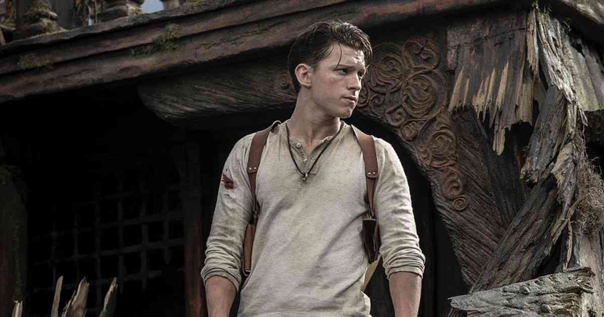 uncharted il film, uncharted, tom holland uncharted