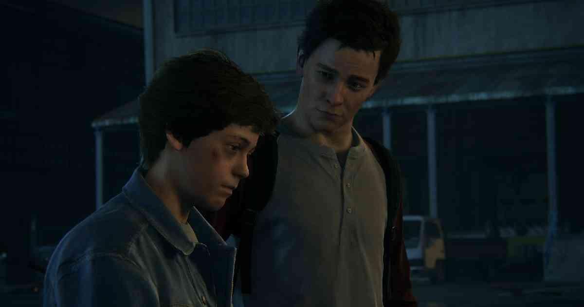Uncharted 4-La fine di un ladro, Uncharted, Nathan Drake da giovane giovane Nathan Drake