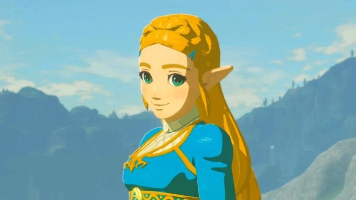 Zelda in Breathe of The Wild
