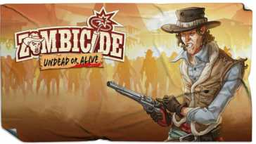 zombicide undead or alive far west