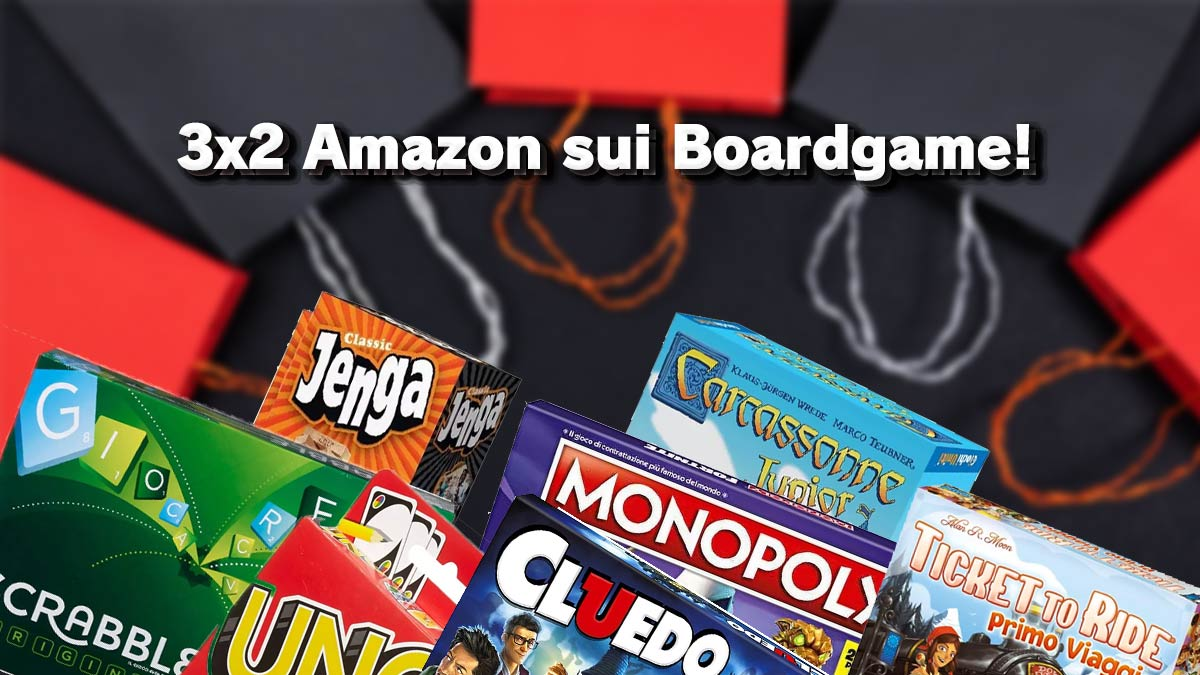 3 x 2 boardgame su amazon