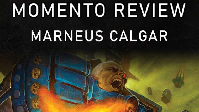 Copertina per il Momento Review sui fumetti di Marneus Calgar
