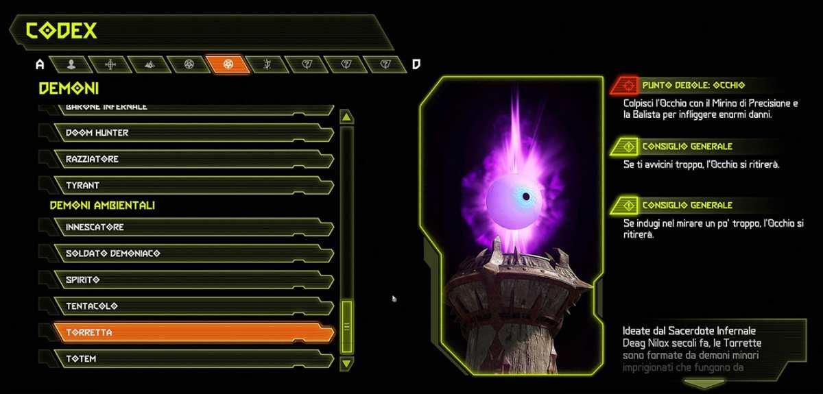 Doom Eternal - Demone Torretta