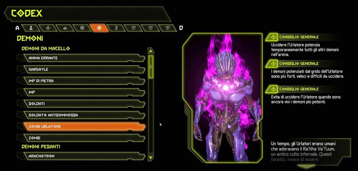 Doom Eternal - Demone zombi urlatore