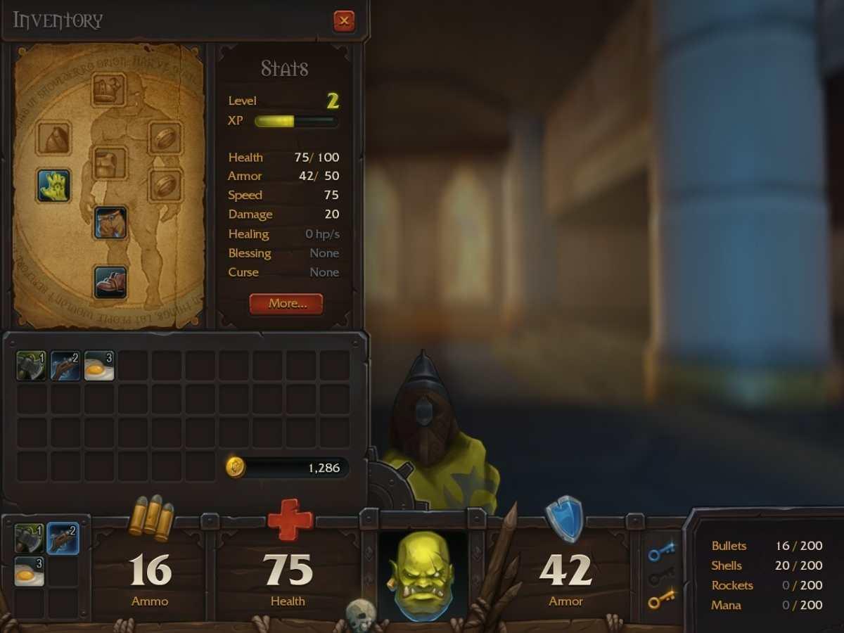Doomcraft screen