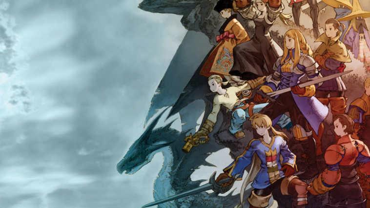 Final Fantasy Tactis personaggi
