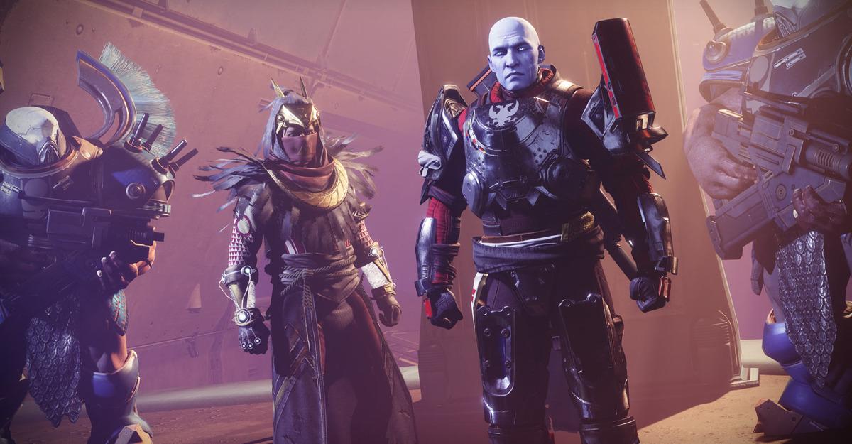 Osiride e Zavala in Destiny 2