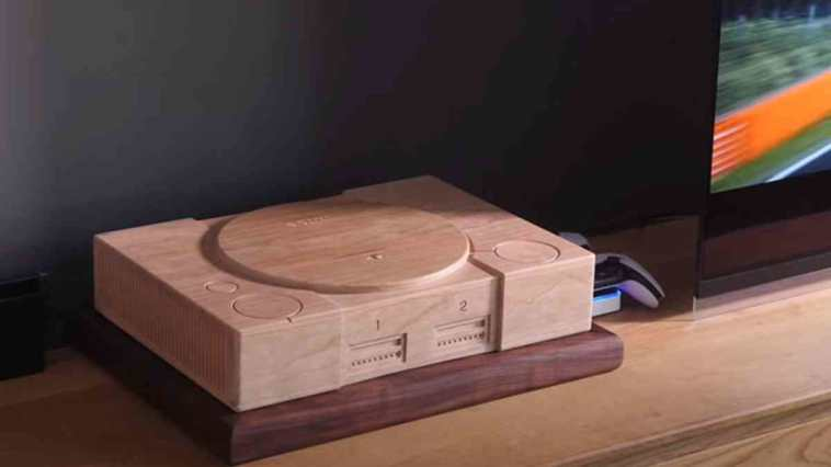 playstation 5, playstation 5 cover legno, playstation 5 cover legno playstation 1, gadget playstation 5
