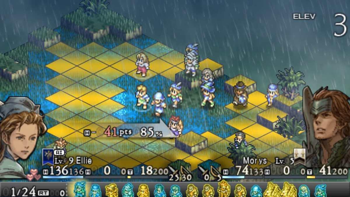 Tactics Ogre gameplay