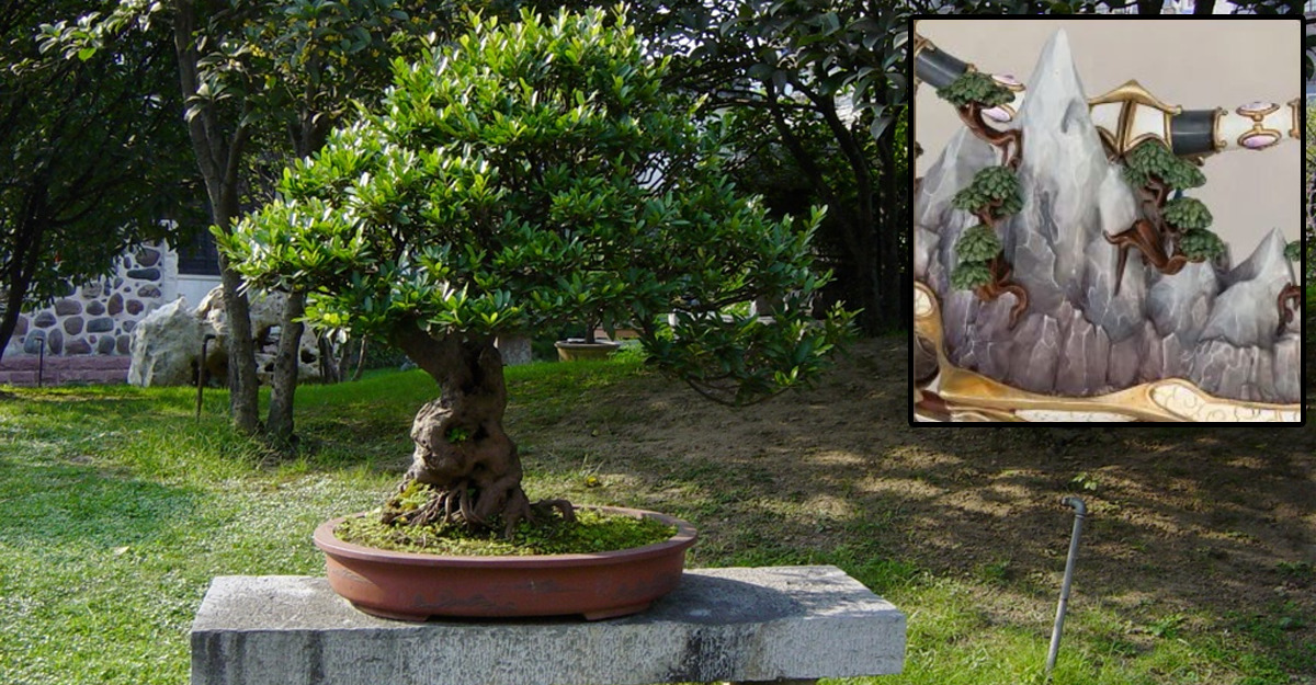 Tohnasai dei Lumineth, ispirati a bonsai e penjing