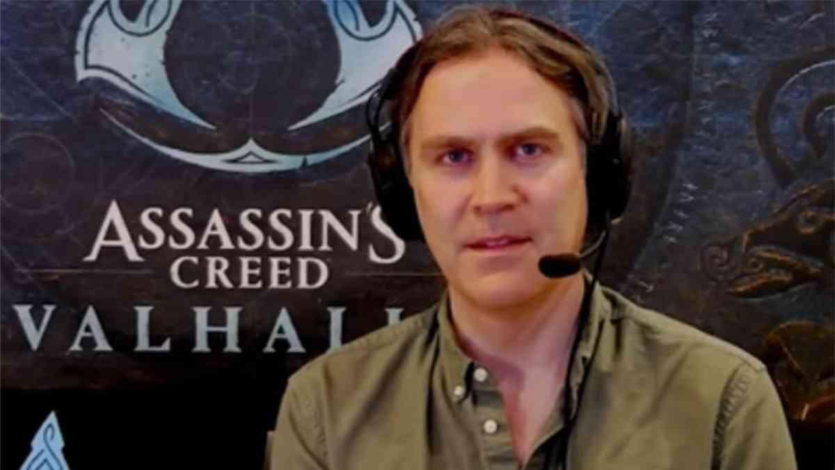 assassin's creed, assassin's creed valhalla, assassin's creed sceneggiatore lascia
