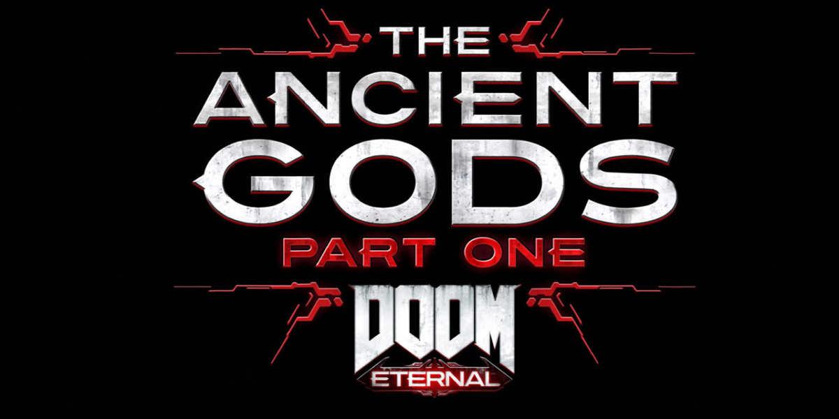 ancient gods part 1 doom eternal logo