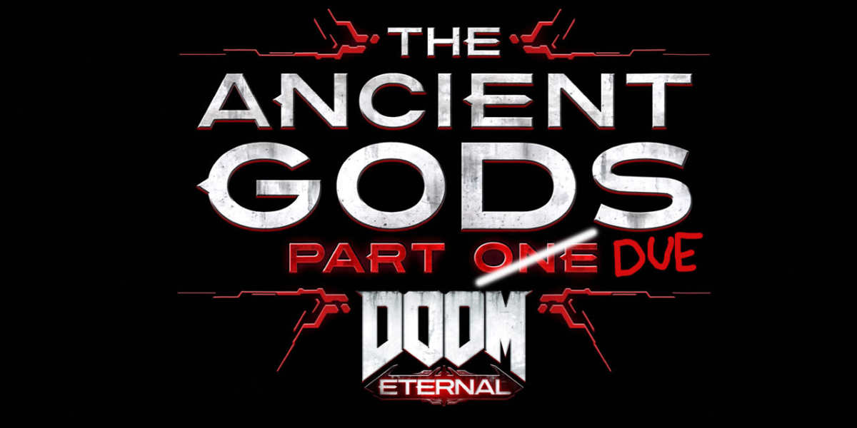 ancient gods part 2 doom eternal logo