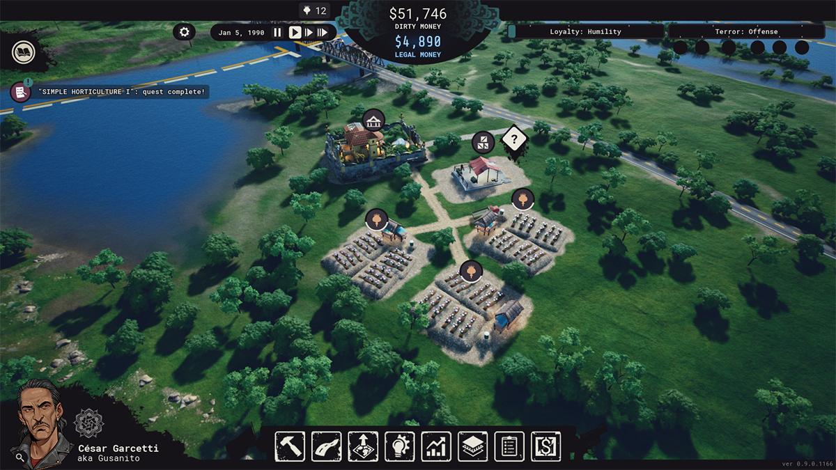 Cartel Tycoon: costruzione di fattorie di oppio
