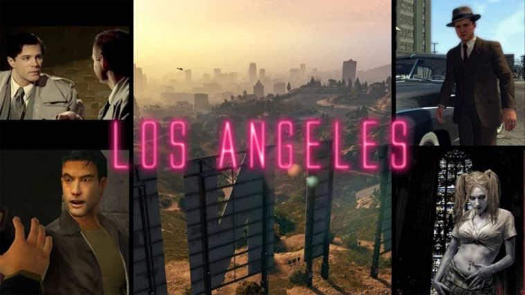 Los Angeles, videogiochi ambientati a Los Angeles, 5 videogiochi ambientati a Los Angeles, GTA V, Black Dahlia videogame, L.A. Noire, Vampire: the masquerade-bloodlines,True Crime-Streets of L.A.