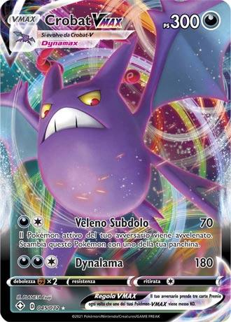 GCC Pokémon - Crobat VMAX Destino Splenente