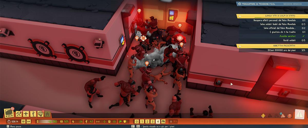 Combattere gli intrusi in Evil Genius 2