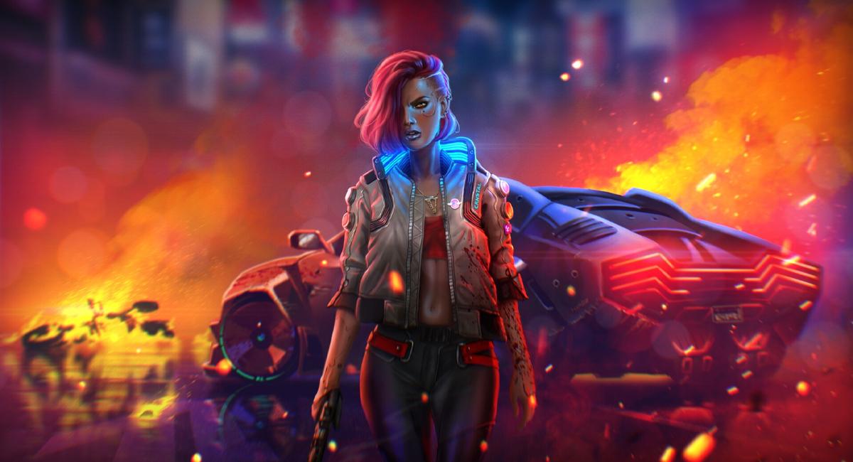 Fanart di Cyberpunk 2077
