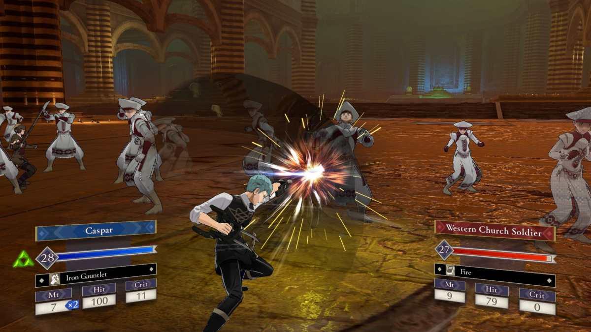 Fire Emblem Three Houses gameplay