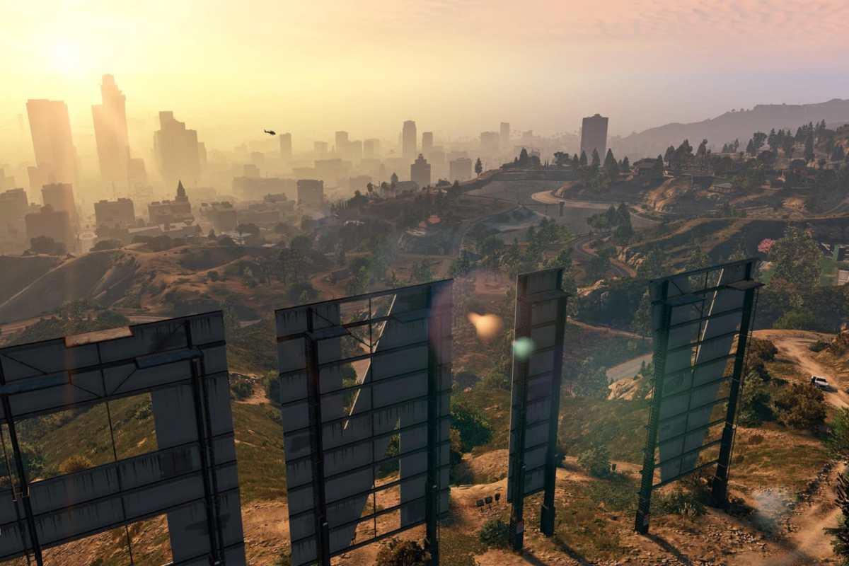 Los Angeles, videogiochi ambientati a Los Angeles, 5 videogiochi ambientati a Los Angeles, GTA V,