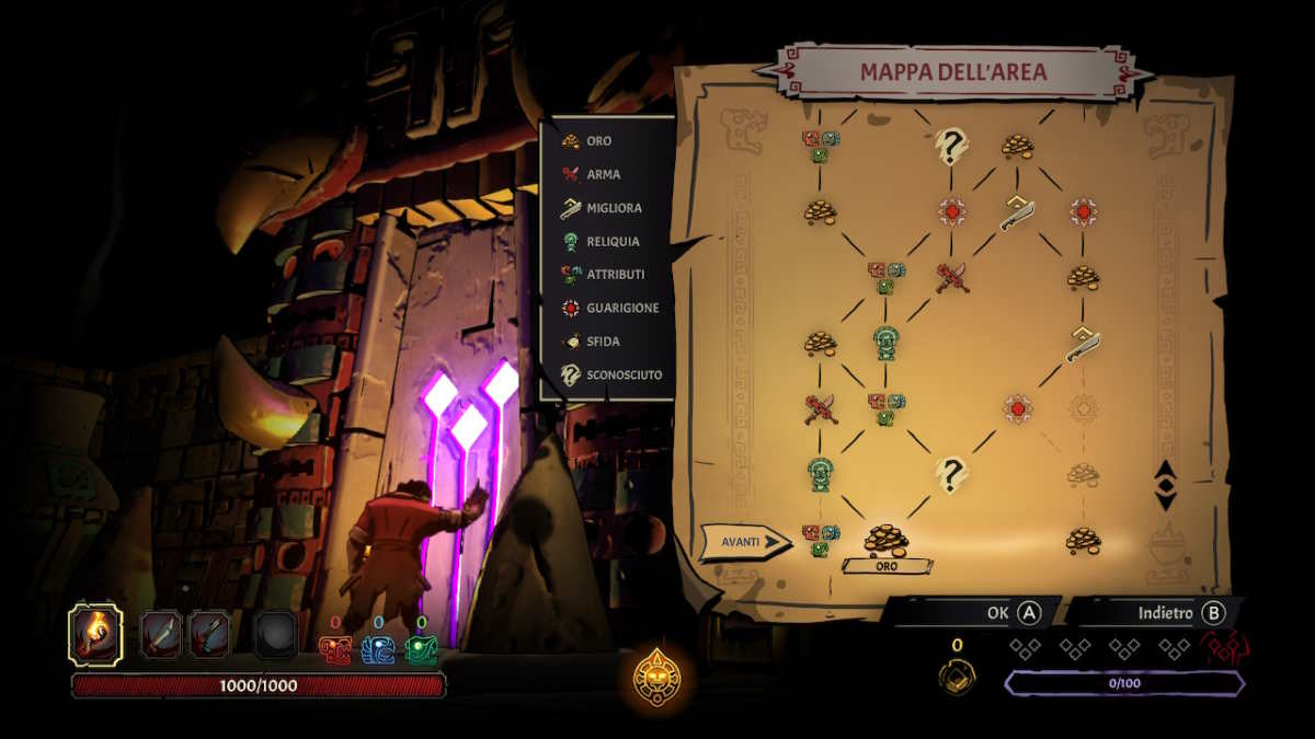 curse of the dead gods mappa
