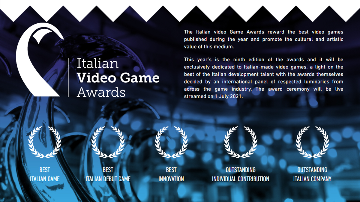 Gli Italian Video Game Awards 2021 al First Playable