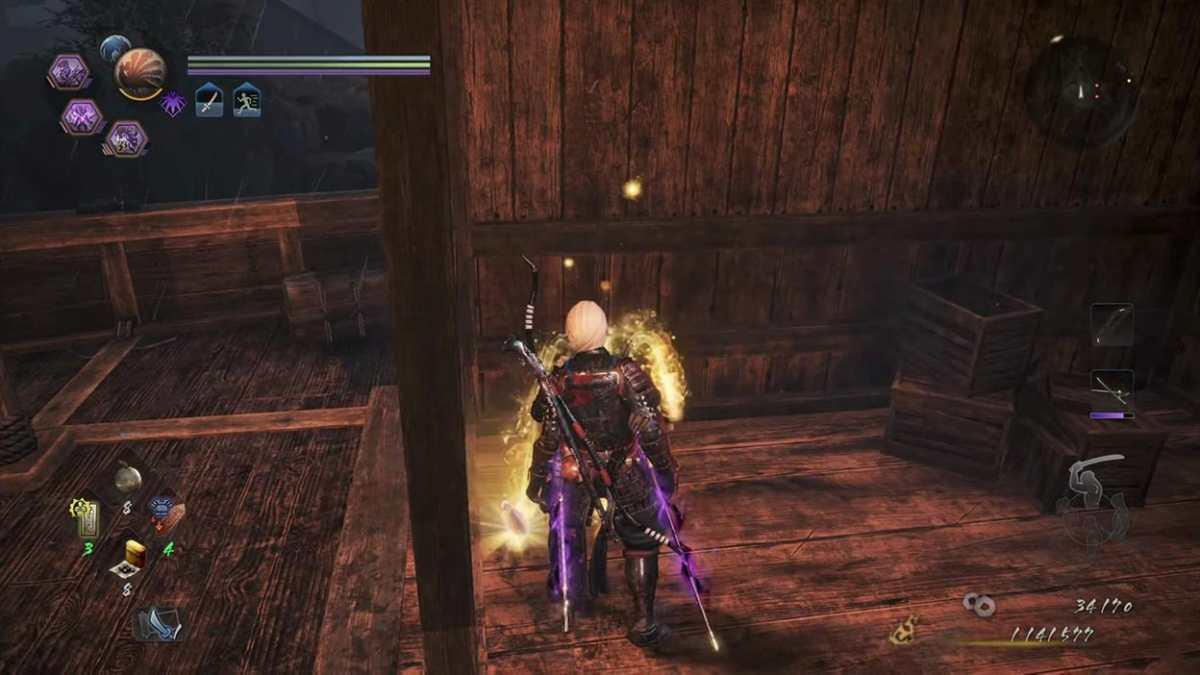 nioh 2 DLC fight
