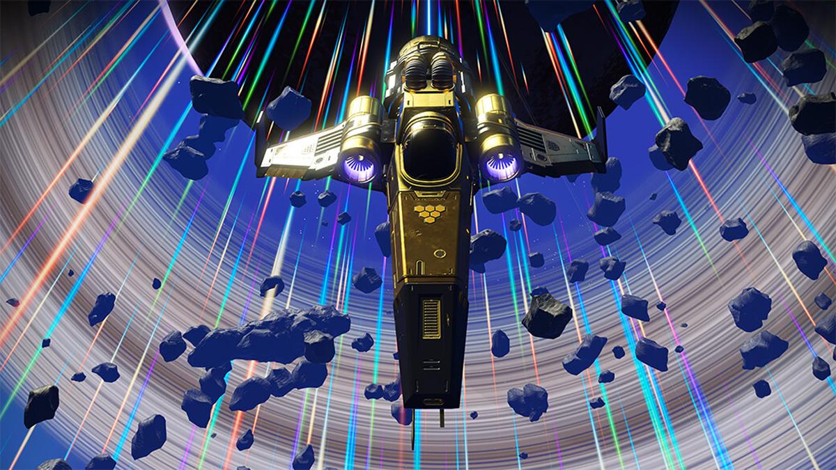 Nave d'oro, ricompensa di No Man's Sky Expeditions