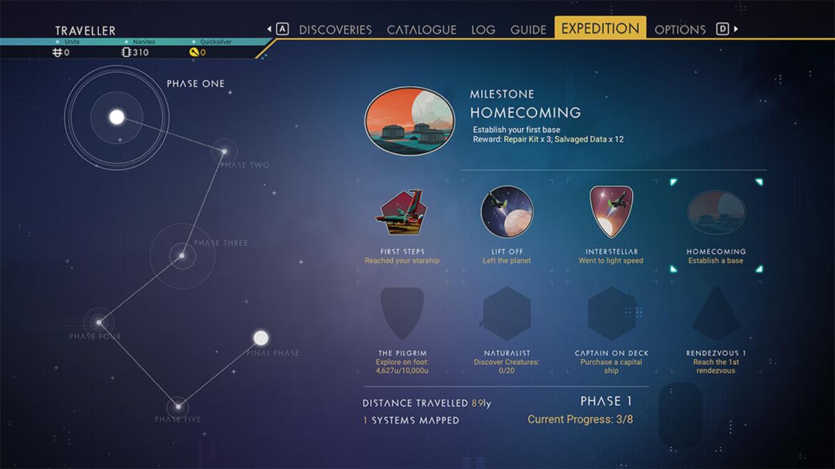 Le spedizioni di No Man's Sky Expeditions
