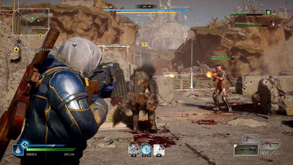 outriders, outriders gameplay, outriders square enix presents, outriders presentazione