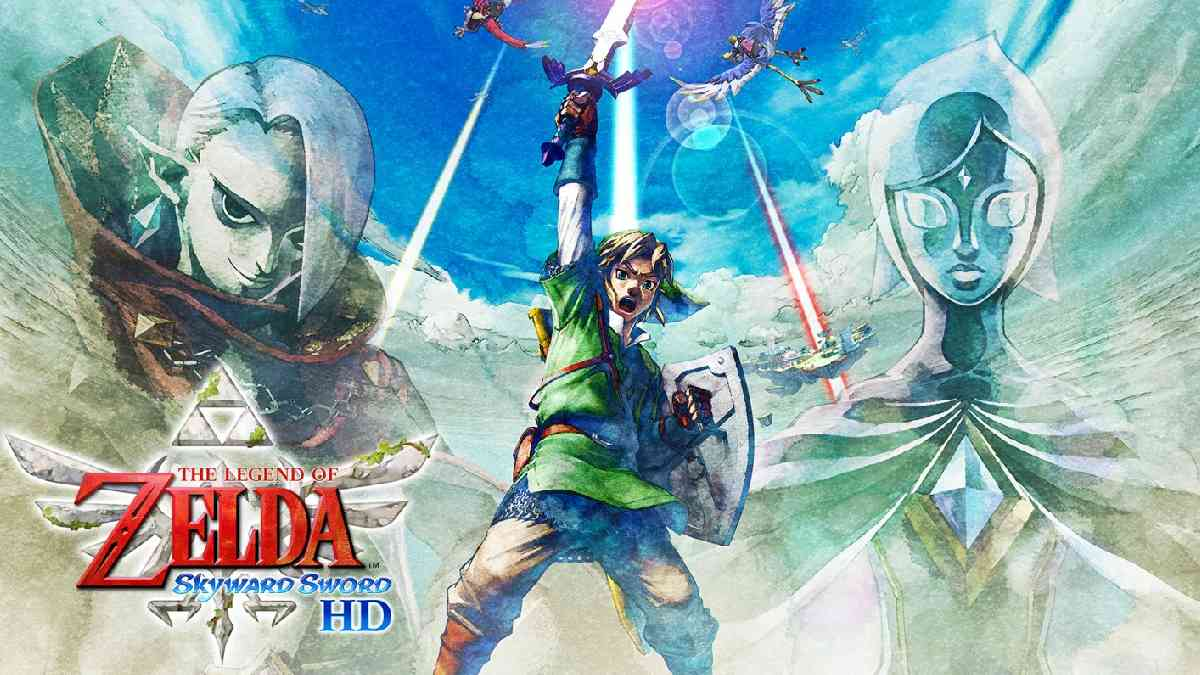 the legend of zelda: Skyward Sword, Zelda, The Legend of Zelda: Skyward Sword gameplay, The Legend of Zelda: Skyward Sword Breath of the Wild