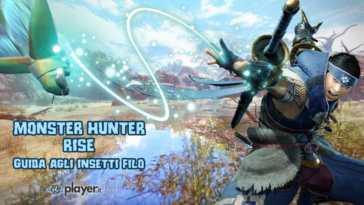 Monster Hunter Rise, Guida, insetti filo, wirebugs, filoscatto, fildiseta, filocaduta, arrampicata, scatto, salto