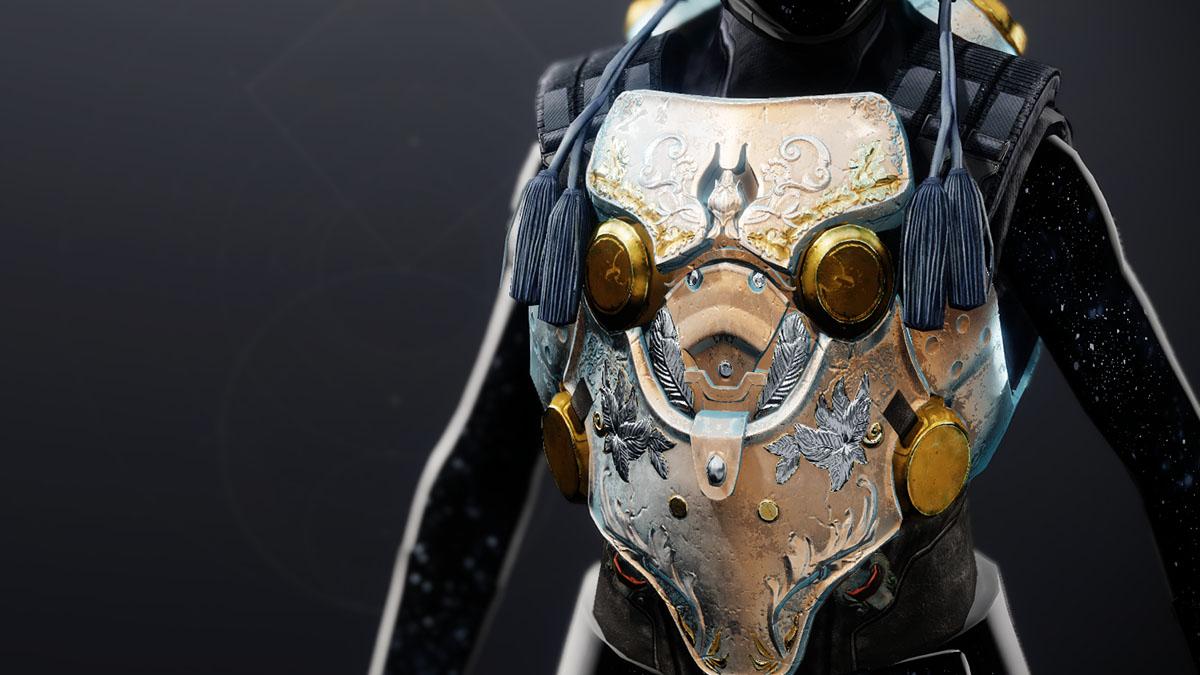 Esotica per Titani Corazza della Stella Cadente in Destiny 2