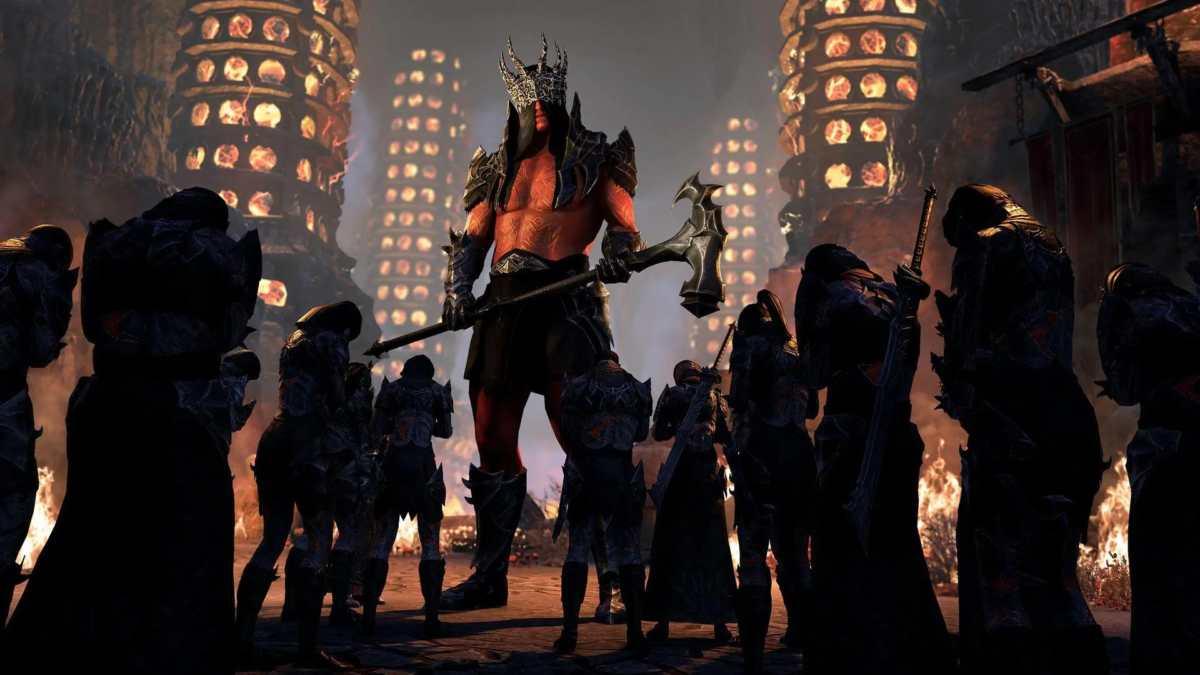 Il boss Baron Zaudrus del dungeon The Cauldron