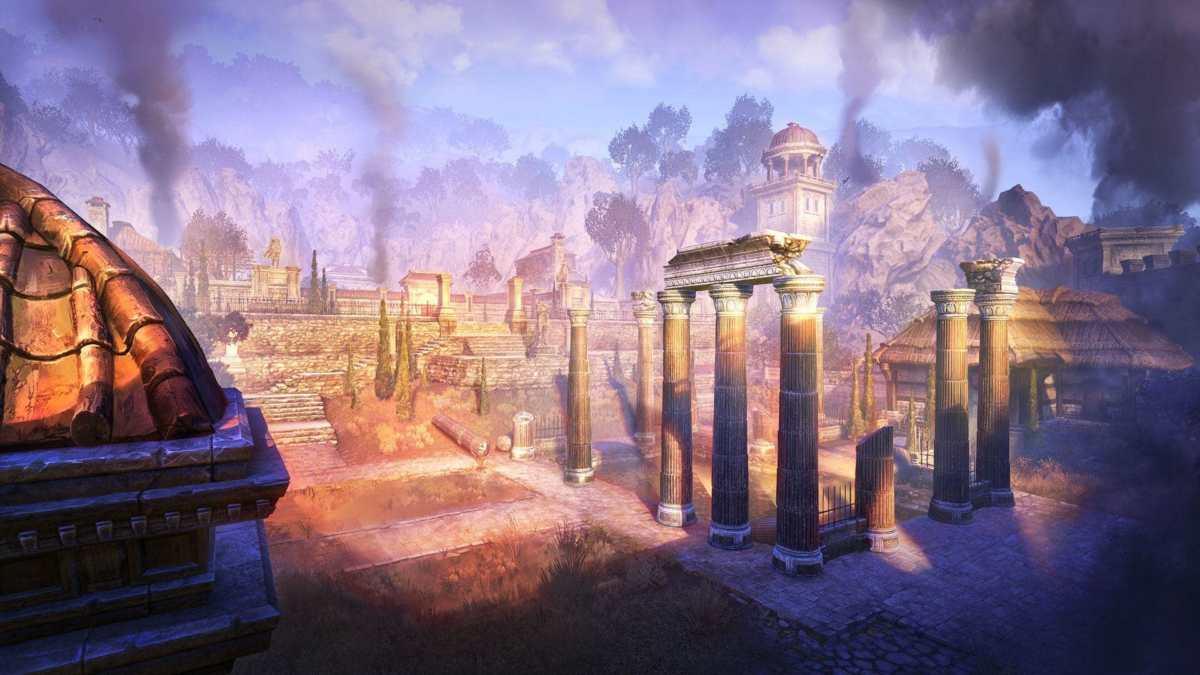 Il dungeon Black Drake Villa di The Elder Scrolls Online: Flames of Ambition