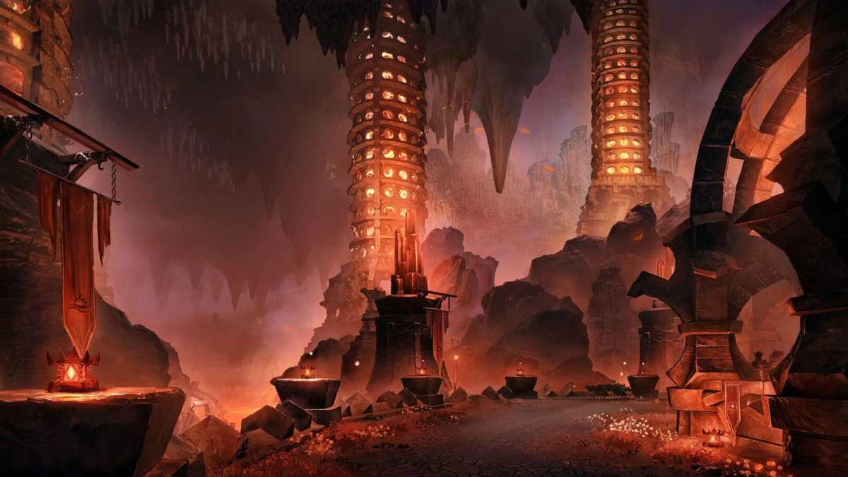 Il dungeon The Cauldron di The Elder Scrolls Online - Flames of Ambition