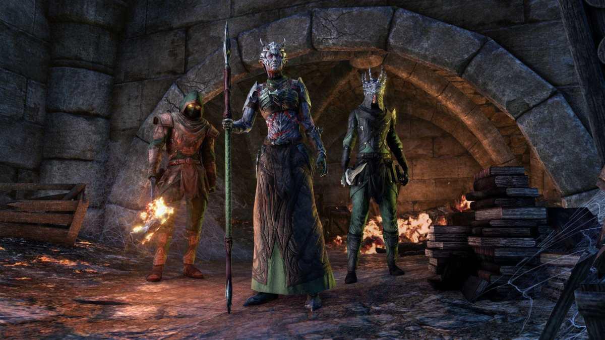 La skin Dagon's Viscerent al centro, e la monster mask di Baron Zaudrus a destra