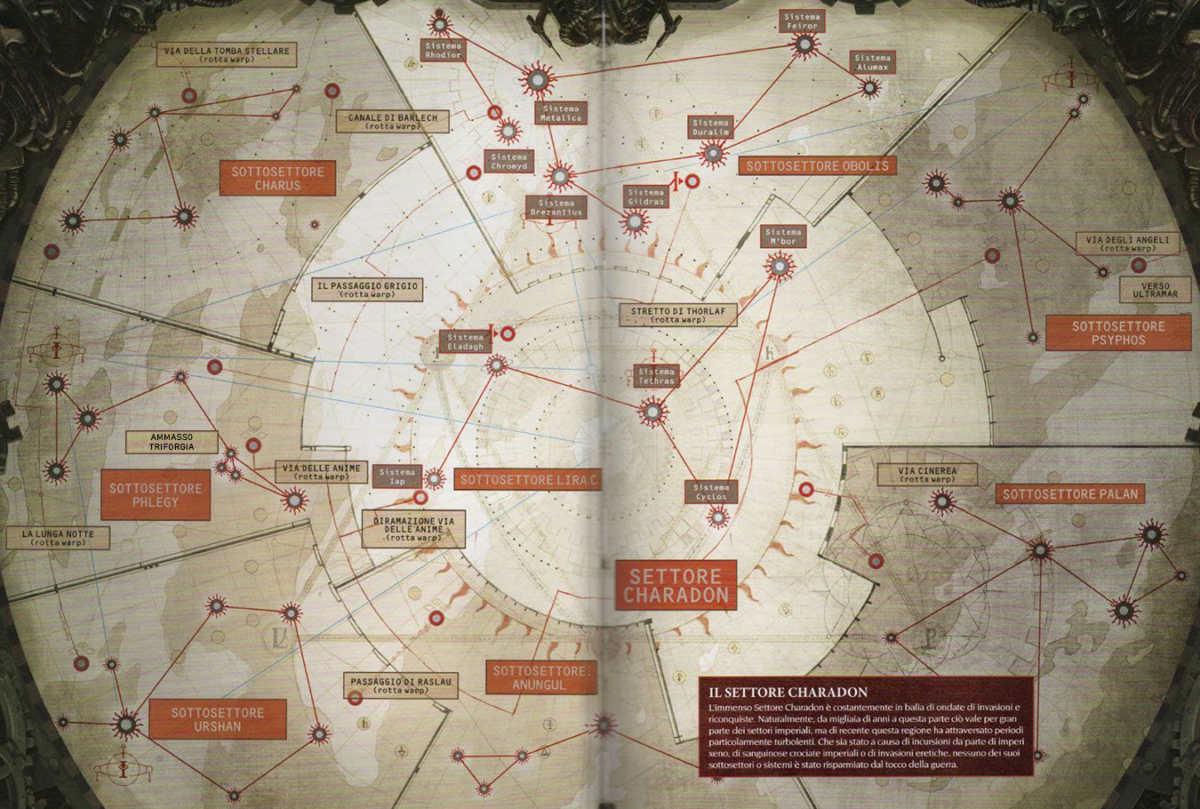Mappa completa del Settore Charadon