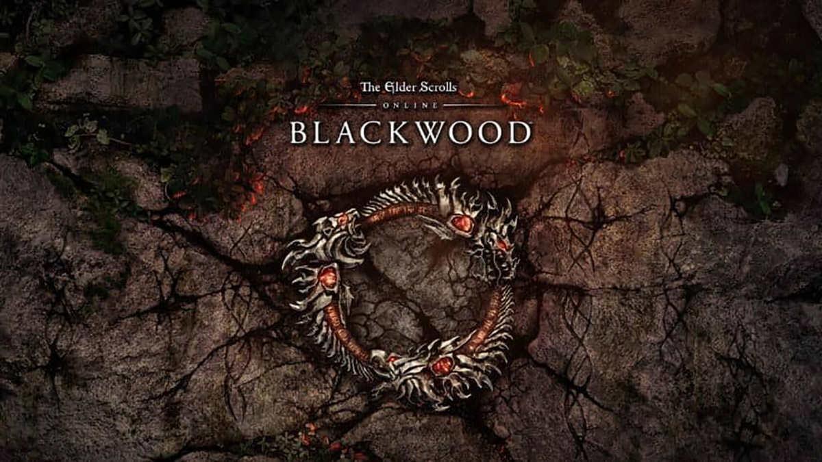 La copertina della futura espansione The Elder Scrolls Online: Blackwood