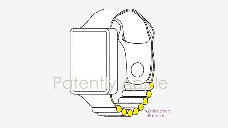 Apple Watch 7 brevetto