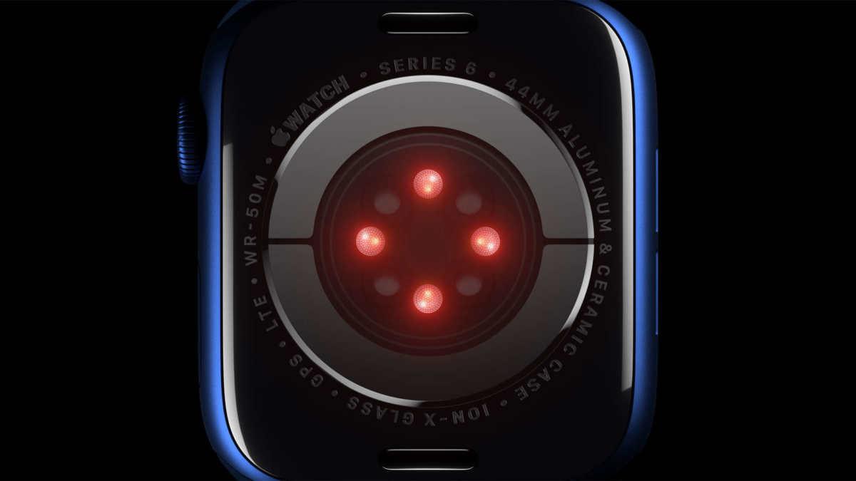Smartwatch Apple Watch 6 retro