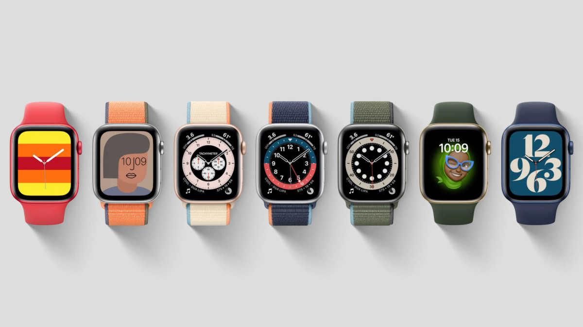 Apple Watch 6 colorazioni cinturino