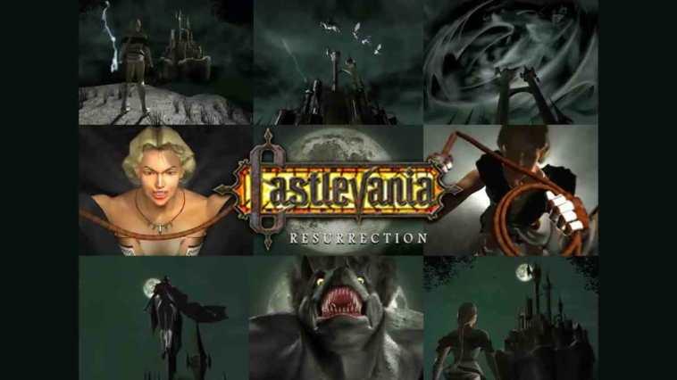 castlevania reurrection, castlevania, castlevania gioco mai pubblicato, castlevania reurrection gioco cancellato, castlevania konami