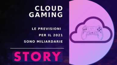 cloud gaming story - copertina