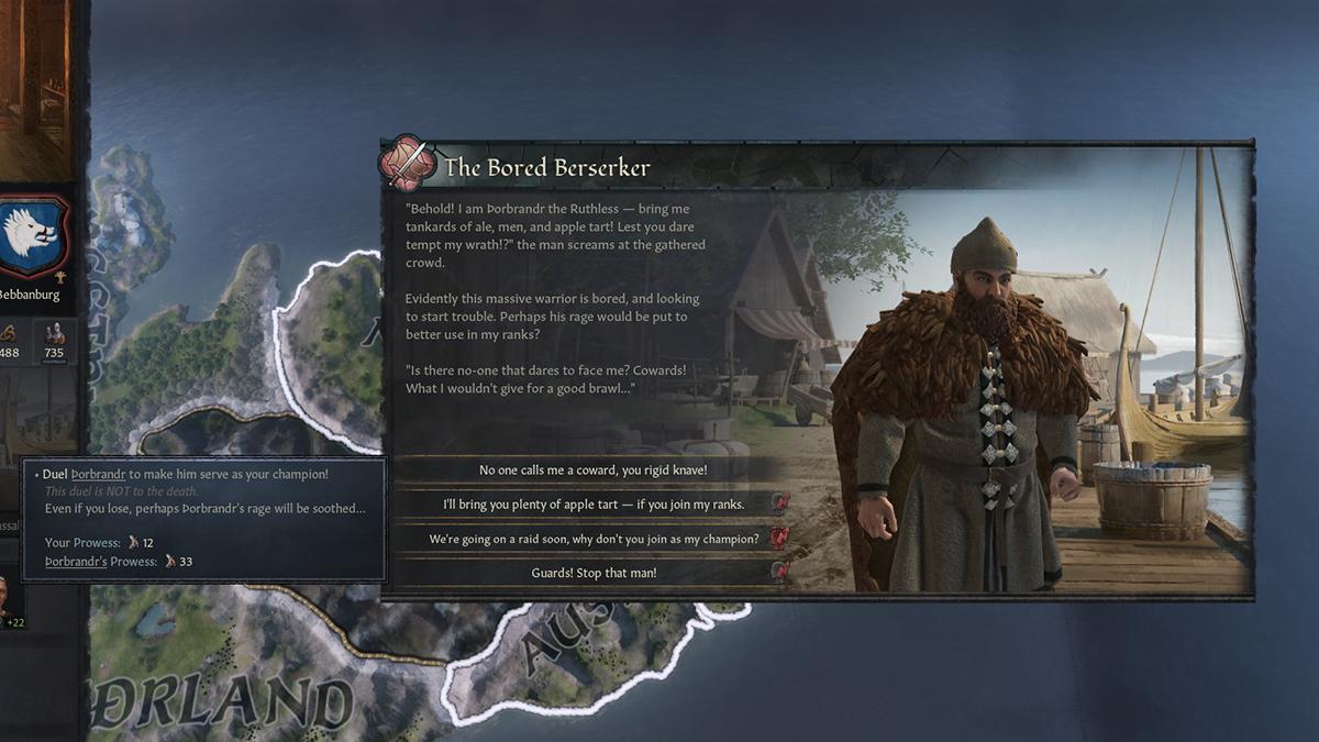 Duello con un Berserker