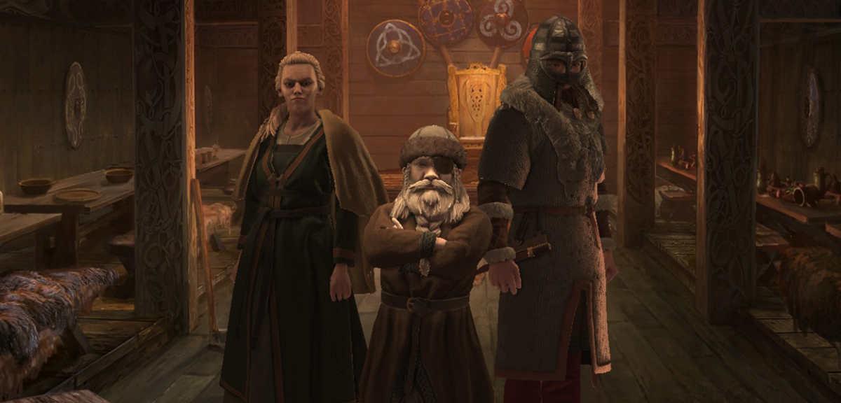Schermata principale di Crusader Kings III con l'ultima dinastia giocata