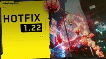 hotfix 122 cyberpunk 2077
