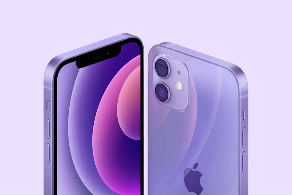iPhone 12 e 12 mini colorazione viola