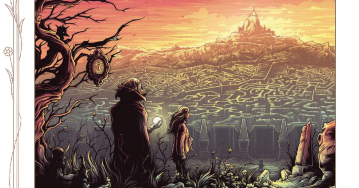 Illustrazioni da Labyrinth - il Gioco d'Avventura