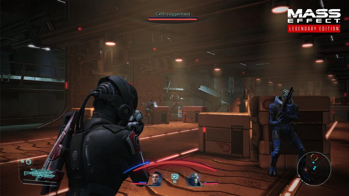 Mass Effect Legendary Edition: boss battle a Noveria